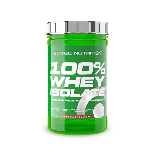 Scitec Nutrition 100% Whey Isolate con l'aggiunta di L-Glutammina extra, 700 g, Cioccolato