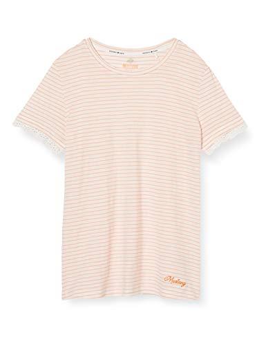 mustang Alina C Lace Camiseta, Multicolor (Florenceflair2 11546), X-Small para Mujer