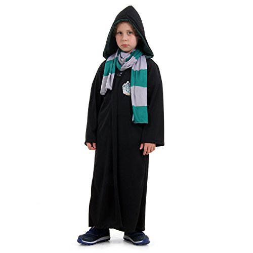 Sulamericana Fantasias Draco Malfoy Harry Potter Infantil, M 6/8 Anos, Multicor
