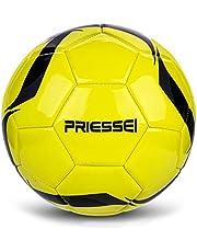 Priessei Balón de fútbol para entrenamiento de fútbol, tamaño 5, oficial para interiores y exteriores, pelota de fútbol profesional
