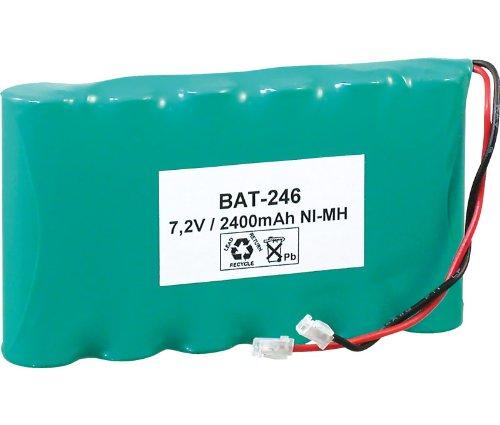 Pack de baterías de 7,2V/2500mAh NI-MH.