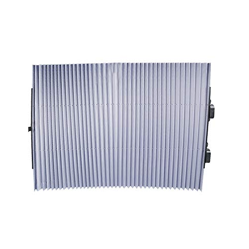 Auto-onderdelen Voorruit zondag schaduw auto gordijnen Automatische Expansion Protect Automotive Interieur van warmte van het zonlicht (Color : Silver, Size : 70cm)