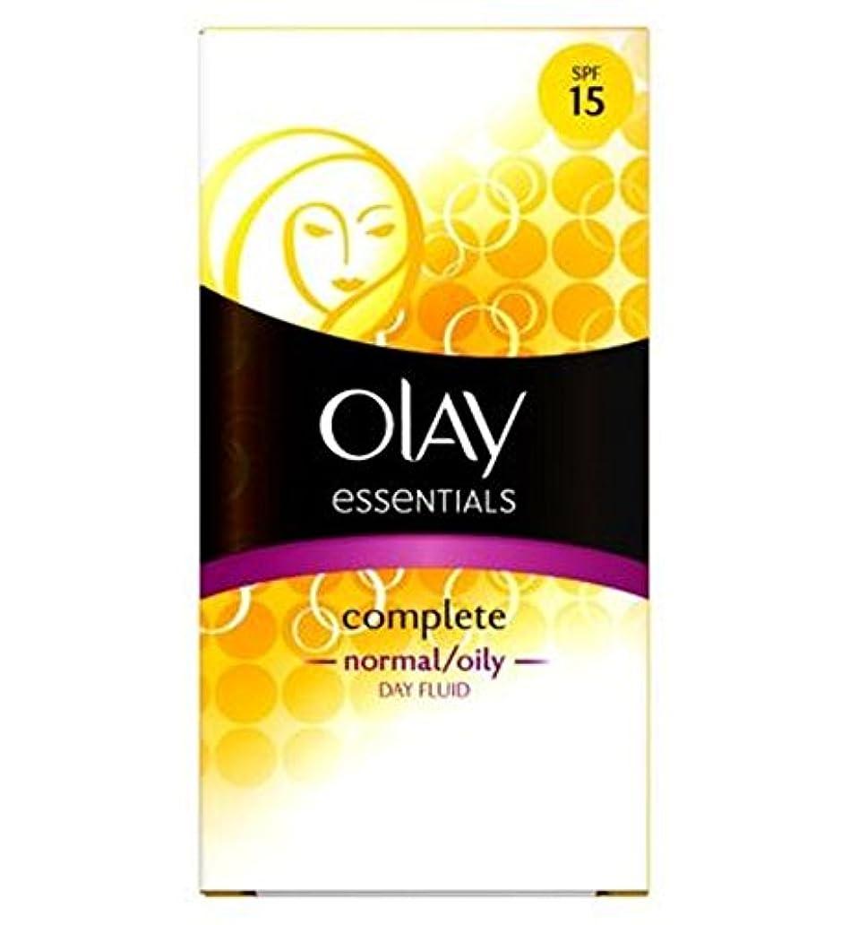 アクセサリー変装した供給Olay Complete Lightweight 3in1 Moisturiser Day Fluid SPF15 normal/oily 100ml - オーレイ完全な軽量3In1の保湿日流体Spf15ノーマル/オイリー100ミリリットル (Olay) [並行輸入品]