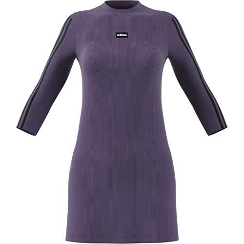 adidas Women's Moment Dress Tech Purple/Black X-Large