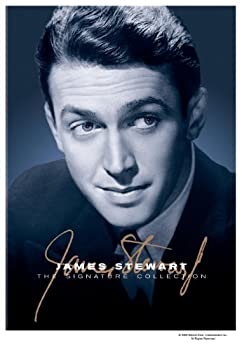 James Stewart - The Signature Collection  The Cheyenne Social Club / Firecreek / The FBI Story / The Naked Spur / The Spirit of St Louis / The Stratton Story