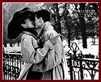 ポスター パメラ ハンソン Veronica and Alex Paris 1984 額装品 ウッドベーシックフレーム(レッド)