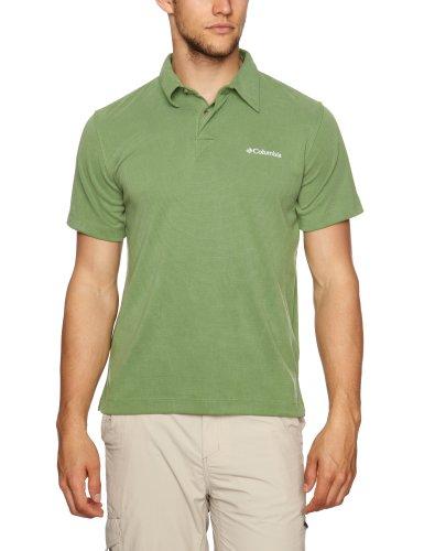Columbia Poloshirt Sun Ridge Polo Manches Courtes Homme, Vert-grün-Palm, FR (Taille Fabricant : XXL)