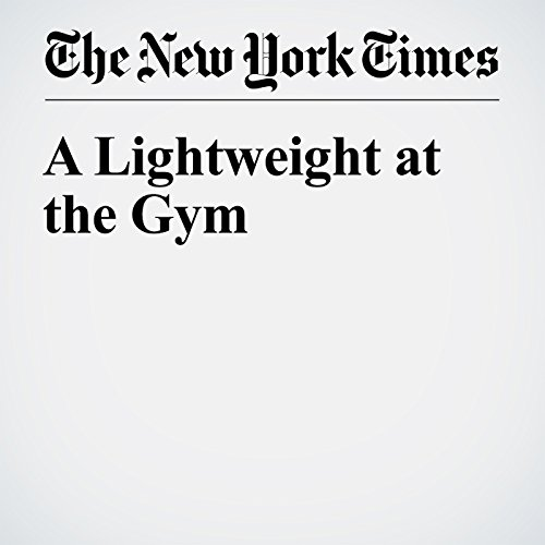 A Lightweight at the Gym audiobook cover art