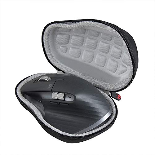 Hermitshell Hard Travel Black Case for Logitech MX Master 3 Advanced Wireless Mouse-2.0 Upgrade Version No Shake