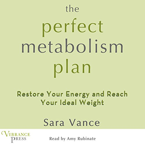 The Perfect Metabolism Plan audiobook cover art