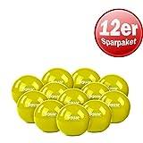 12x Tiguar Gewichtsbälle je 0.5 kg oliv Gewichtskugel Gewichte Bälle
