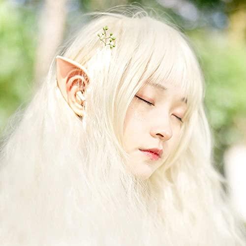 LYDIANZI Látex Elf Oreja Cosplay Hadas Pixie Elfos Orejas Fiesta De Halloween Anime Props Elfo...