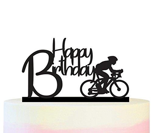 Happy Birthday Cake Topper Decor Set
