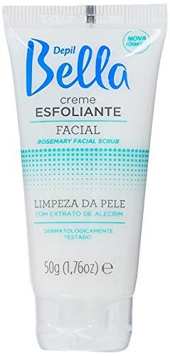 Creme Esfoliante Facial de Alecrim 50g, Depil Bella