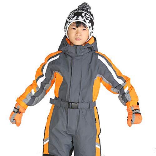 XFCMCP Warm Winter Kids Meisjes Jongens Ski Suit Set Waterdichte Kinderen Sneeuwpak 2T 4T 6T Kinderen Romper Overall Winddichte Jumpsuit