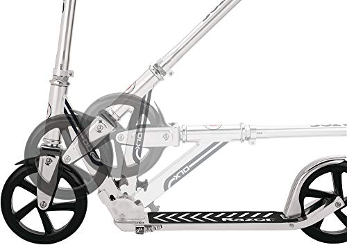 Razor A5 DLX Kick Scooter - Silver - FFP