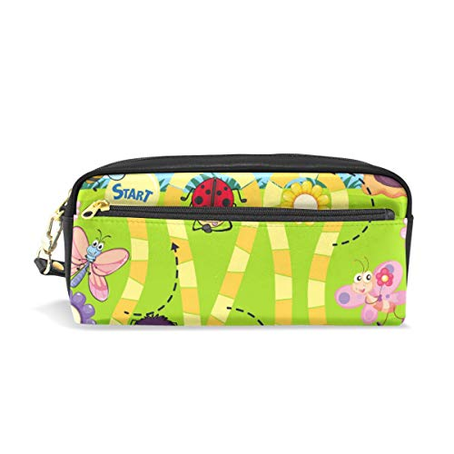 Fun Insect Board Game Template Pencil Case Pen Box Pouch Bag School briefpapier benodigdheden Travel cosmetische make-up tas