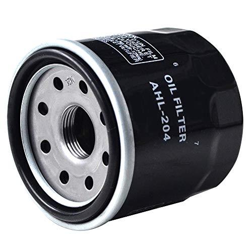 AHL Filtro de aceite negro para kawasaki Z750 750 2004 – 2006 / Z750S 750 2005 – 2006