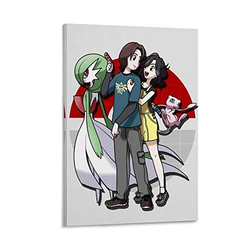 DRAGON VINES Póster artístico de Alan And Ayeicha Anime Manga para pared, colorido abstracto, 50 x 75 cm