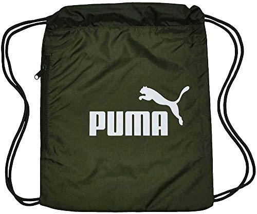 Puma Classic Cat Gym Sack - Forest Night White, Größe:-