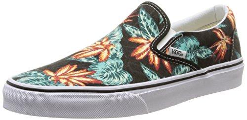 Vans Men's Classic Slip-on Skate Shoes Black 11.5 B(M) US Women / 10 D(M) US Men