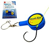HOOK-EZE Fishing Knot Tying Tool for Fishing Hooks All in One – Cover Hooks on Fishing Rods | Line Cutter | for Saltwater Freshwater Bass Kayak Ice Fishing