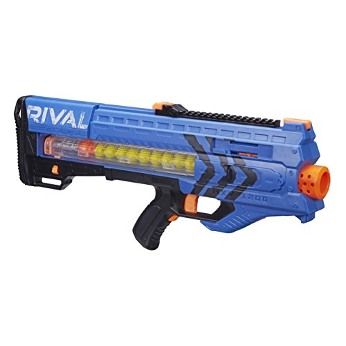 Nerf - Rival Zeus MXV-1200, color azul (Hasbro B1593SC3