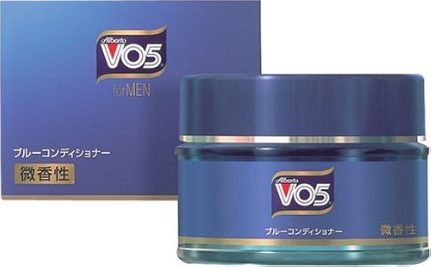 博覧会ブレス吸うVO5 for MEN ブルーコンディショナー 微香性 85g