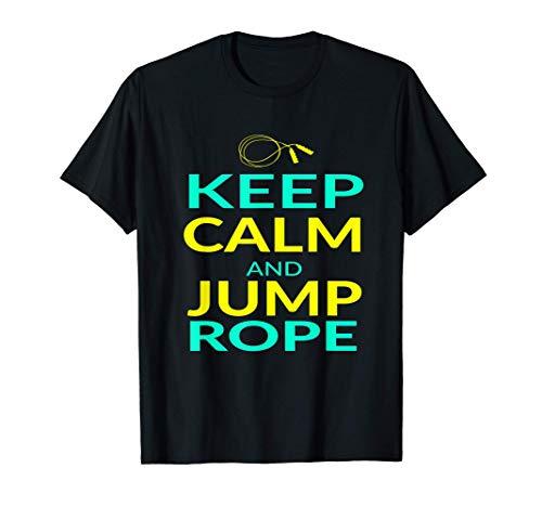 Entraînement à la corde à sauter rétro vintage drôle T-Shirt