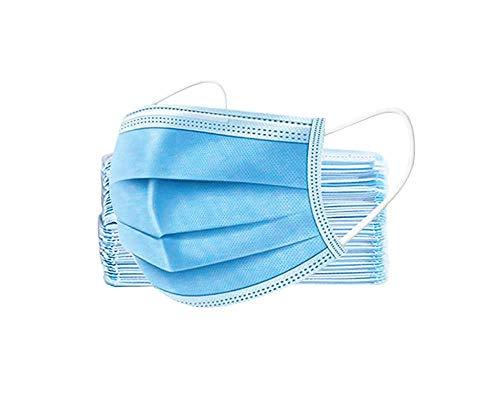 50 * 100 * 250 * 500 * 1000 * 2000 * 5000 * 10.000 Stück 3-lagige h2i Einweg Mund - Nasen Schutz Maske (100 x Typ - II R)