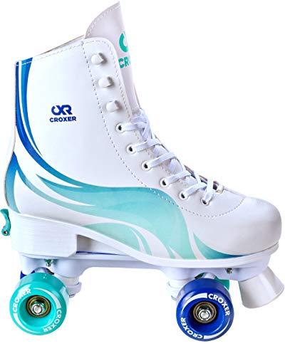 Croxer Rollschuhe Roller Skates Evita (Mint, 35-38(22,5cm-24cm))