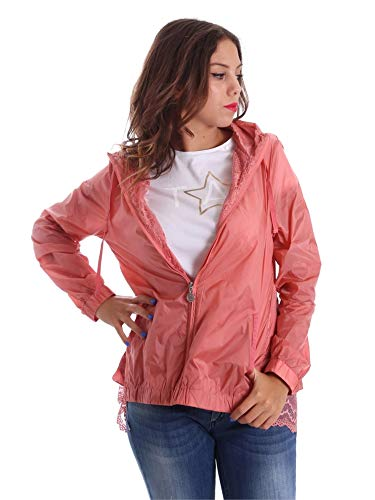 Fornarina BE173C30N29968 Giacca Donna Rosa XS