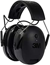 3M WorkTunes Connect + Gel Ear Cushions Hearing Protector with Bluetooth Technology, Ear protection for mowing, snowblowing, construction, work shops