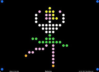 Lite Brite Refill: Little Miss (12 sheets with colored letters) - for Magic Screen, Create With Light, Basic Fun, Bridge D...