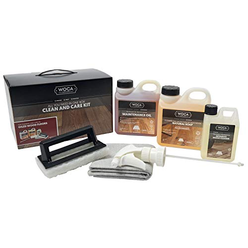 WOCA 699963DE-N Natur Pflegebox mit Pflegeöl