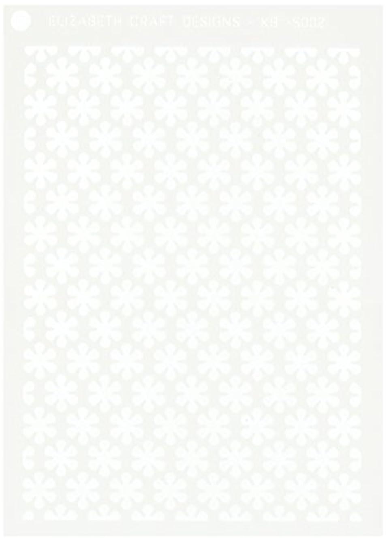 Elizabeth Craft Designs S002 N/A Stencil 5