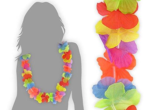 Lot de 24 collier hawaien \