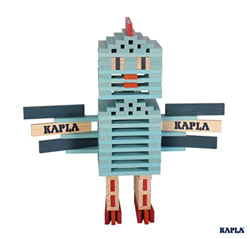 KAPLA OCTOCOLOR, 100 Holzplättchen, 8 verschiedene Farben - 3