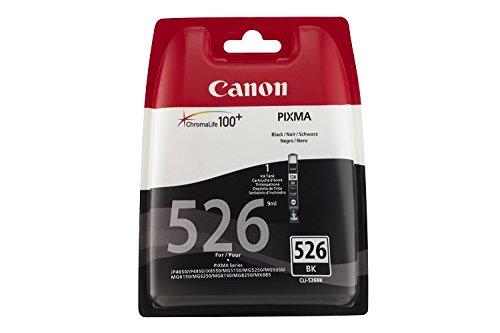 Canon CLI-526 original Tintenpatrone  Schwarz für Pixma Inkjet Drucker MX715-MX885-MX895-MG5150-MG5250-MG5350-MG6150-MG6250-MG8150-MG8250-iP4850-iP4950-iX6550