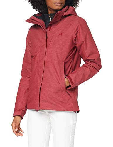 MILLET Pobeda II 3 In 1 Jkt W Jacket, Womens, H Tibetan Red, M