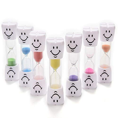 Hourglasses - 3 Minutes Mini Hourglass Sandglass Sand Clock Timers Happy Smiling Face Desktop Timer - Alarm Smiley Decor Shui Minutes Oil Alarm Hourglass Sand Water Mini Wall Timer Timer Sa