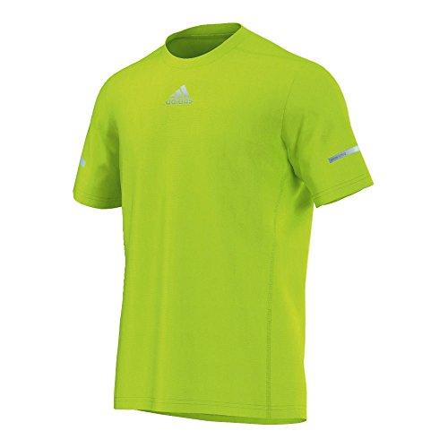 adidas funneln Esquina Camisetas, Todo el año, Hombre, Color Verde, tamaño Large