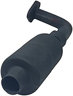 Performance Exhaust Pipe for Sport Kart, Drift Trike, and All Other Go Karts with Horizontal 6.5hp OHV Engine [4005]