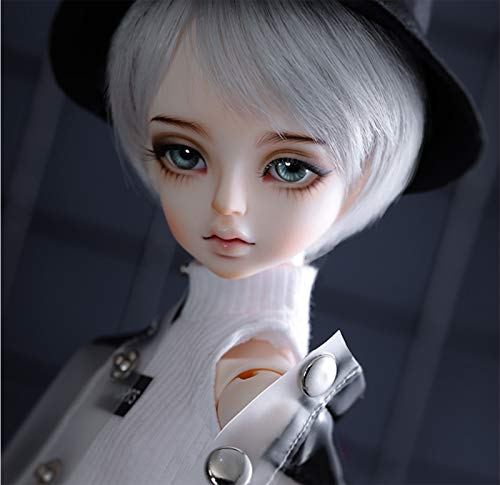 Olaffi 1/4 BJD Doll 41 Cm Doll,Cute 16.5 Inch Ball Jointed Dolls Full Set Toy con Maquillaje Disfraz,Regalo De Cumpleaos para Nias Maquillaje Regalo Coleccin,Normal Skin