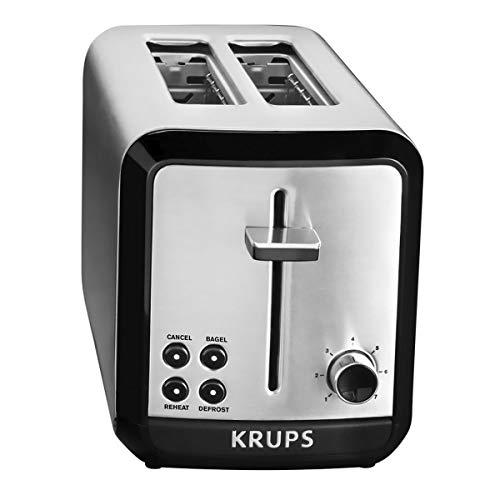 KRUPS 7211002389 KH3110 SAVOY Toaster, 1, Silver