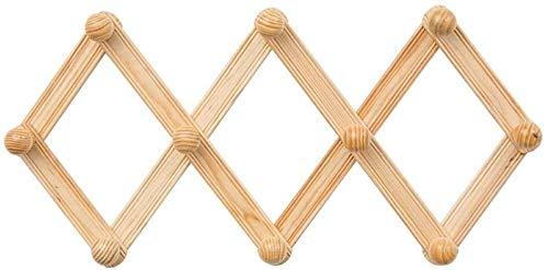 Perchero de pared ganchos de pared gancho de pared colgador de pared de montaje decenas de segundos gancho de madera gancho escandinavo gancho de pared percha sombrero dormitorio baño entrada Cr