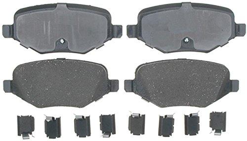 ACDelco 17D1377CH Professional Ceramic Rear Disc Brake Pad Set