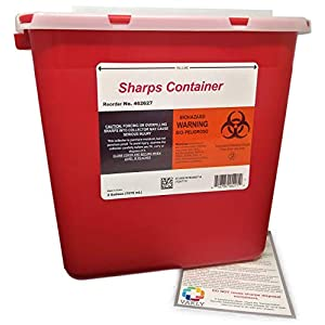 buy  2 Gallon Sharps Container – Large – ... Diabetes Care