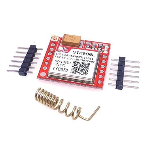 Neue kleinste SIM800L GPRS GSM-Modul MicroSIM-Karte Core BOard Quad-Band-TTL-serieller Port