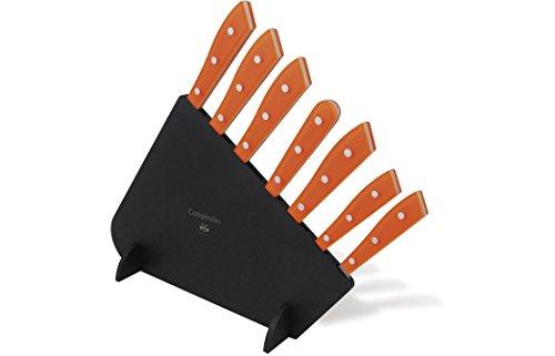 Coltellerie Berti–COMPENDIO Lucite Block mit 7Messer–Küche Messer Set